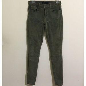 J Brand Womens Jeans Size 27 Roz Moto Skinny